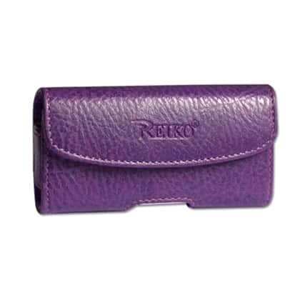 HORIZONTAL POUCH HP1022A LG LX260 RUMOR PURPLE 4.3X2X0.7 INCHES