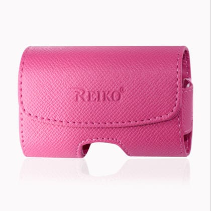 HORIZONTAL POUCH HP1023A SIZE:S HOT PINK 3.5X1.9X0.9 INCHES