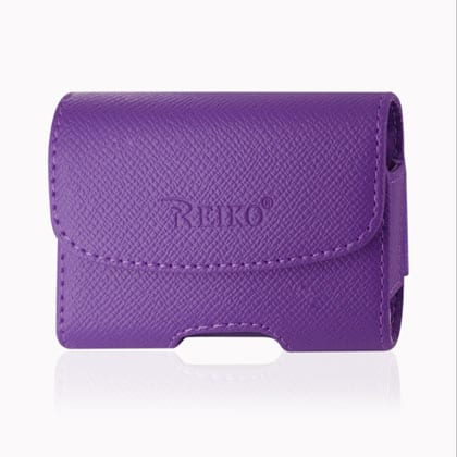 HORIZONTAL POUCH HP1023A UTSTARCOM BLITZ PURPLE 3.5X2.6X0.8 INCHES
