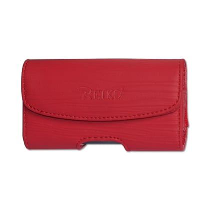HORIZONTAL POUCH HP1025A MOTOROLA V9 RED 4X0.5X2.1 INCHES
