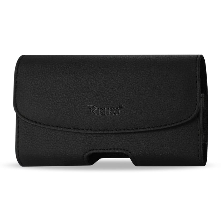 HORIZONTAL POUCH APPLE IPHONE 4G BLACK
