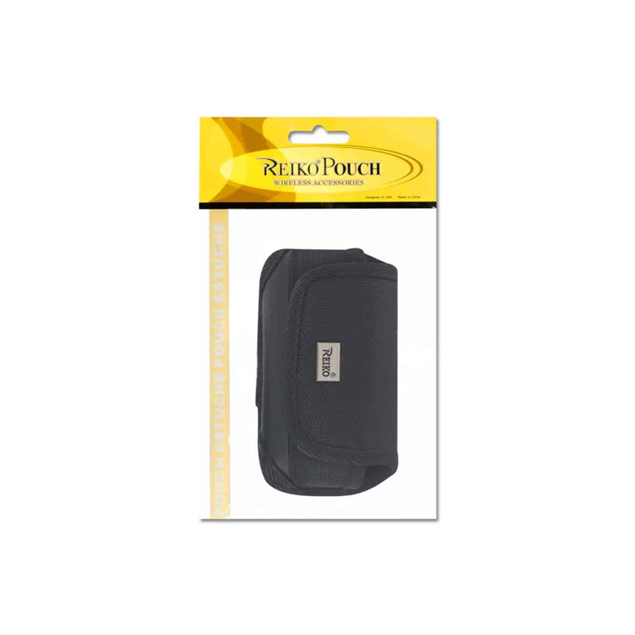 HORIZONTAL POUCH HP107 TREO650 BLACK 4.4X2.3X0.9 INCHES