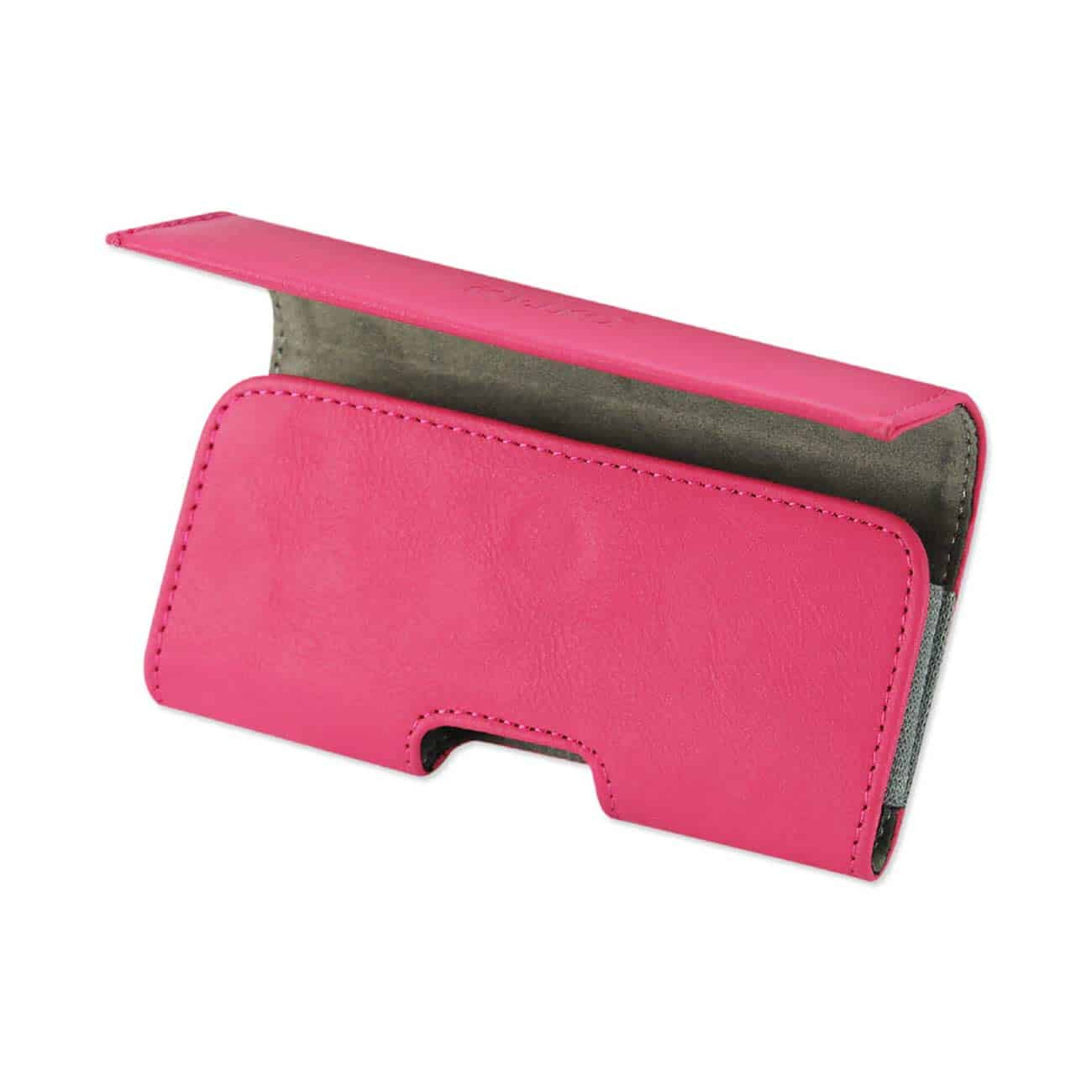 HORIZONTAL POUCH IPHONE5 PLUS HOT PINK