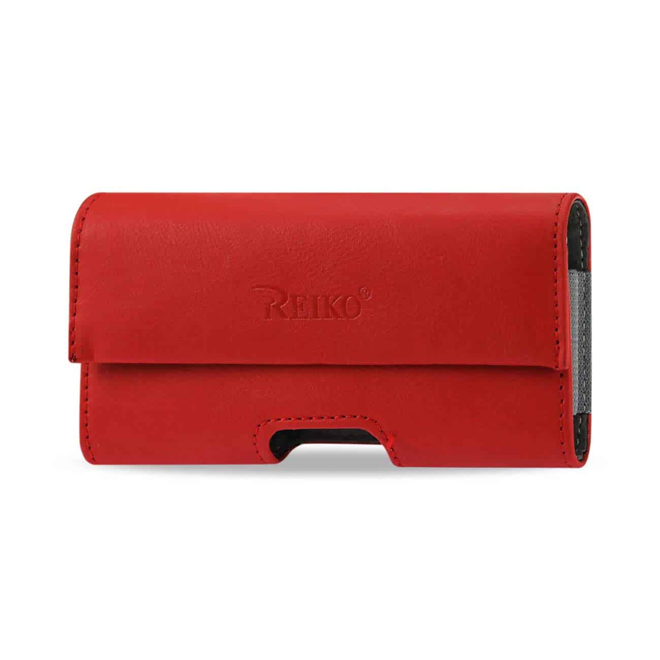HORIZONTAL POUCH IPHONE4 PLUS RED