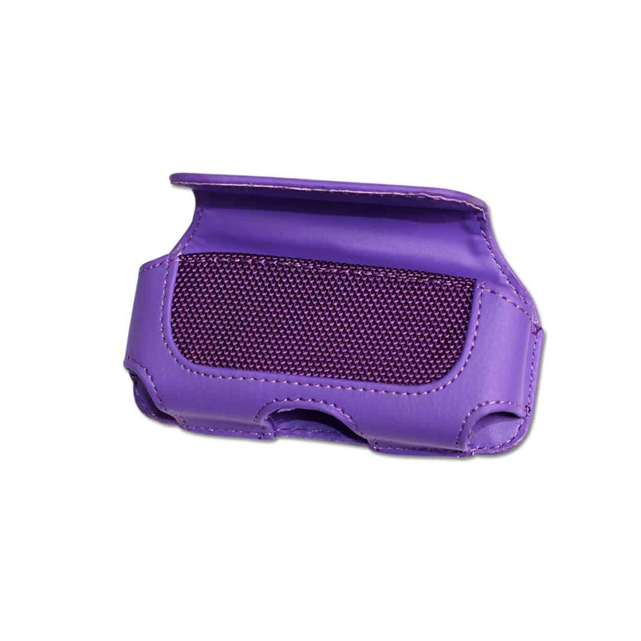HORIZONTAL POUCH HP11A L SIZE PURPLE 4.6X1.9X0.8 INCHES