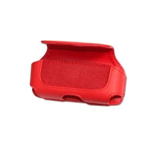 HORIZONTAL POUCH HP11A L SIZE RED 4.6X1.9X0.8 INCHES