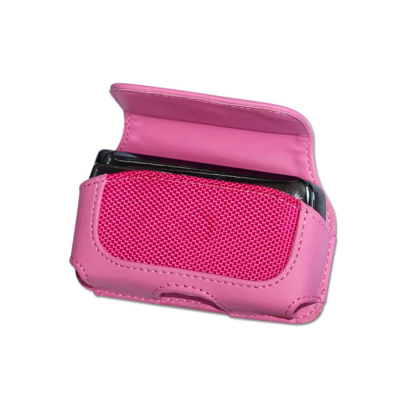 HORIZONTAL POUCH HP11A MOTOROLA V9 HOT PINK 4X0.5X2.1 INCHES