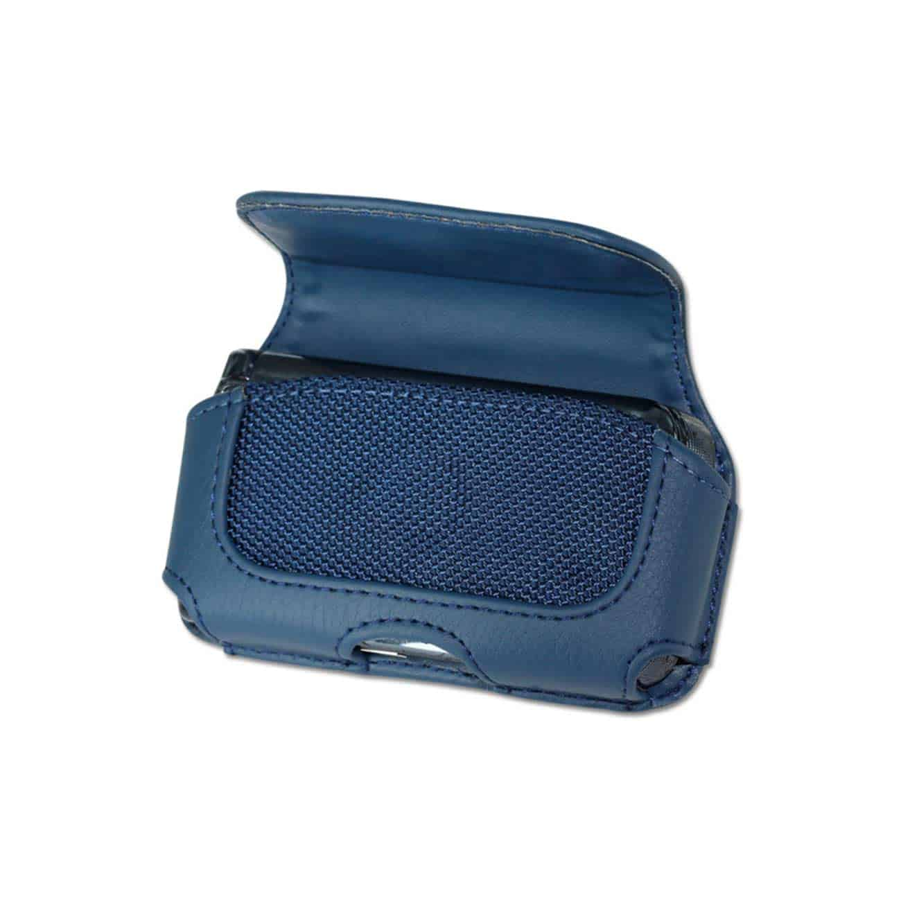 HORIZONTAL POUCH HP11A MOTOROLA V9  NAVY 4X0.5X2.1 INCHES