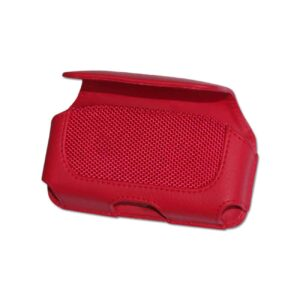 HORIZONTAL POUCH HP11A TREO 650 RED 4.4X2.3X0.9 INCHES