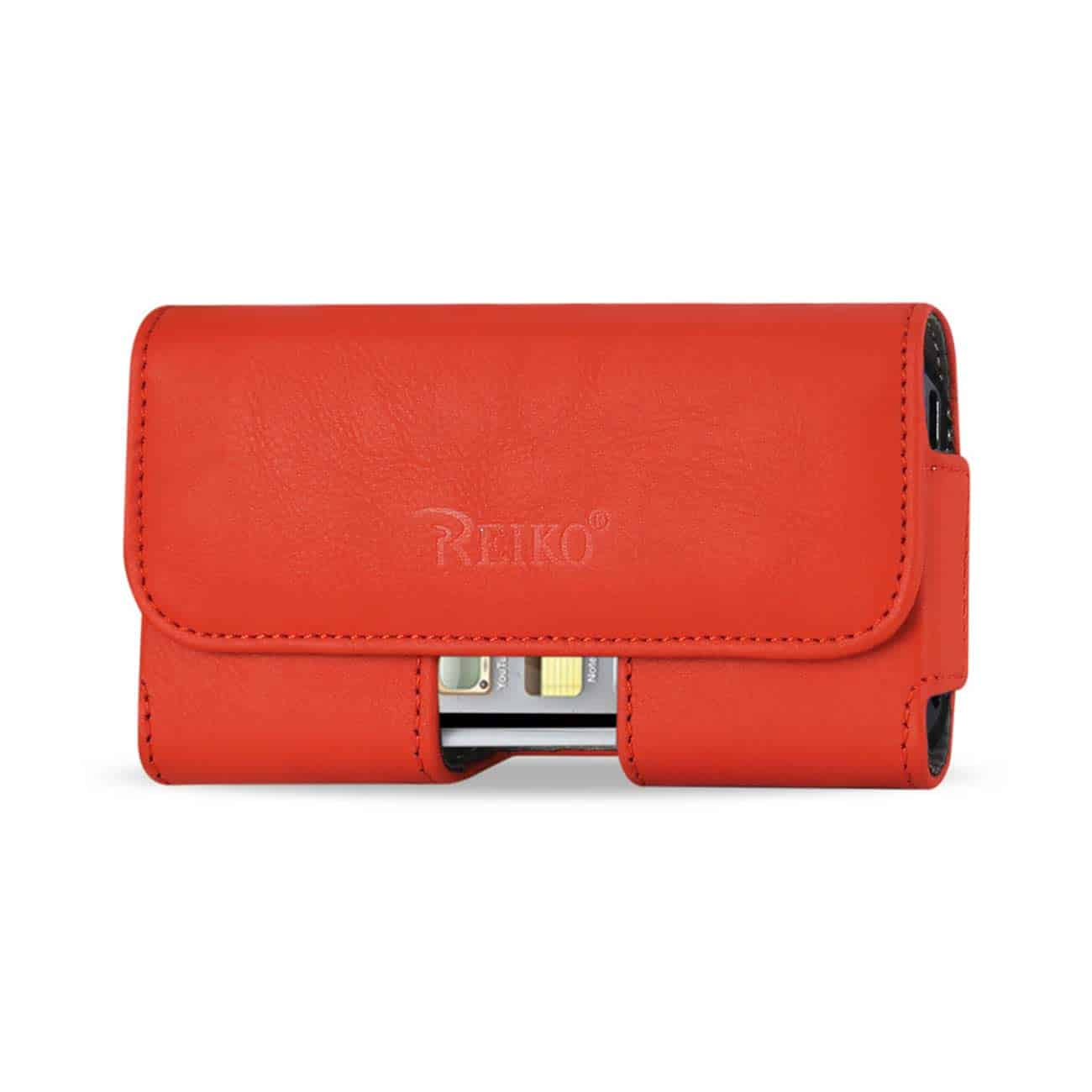 HORIZONTAL POUCH IPHONE5 PLUS ORANGE