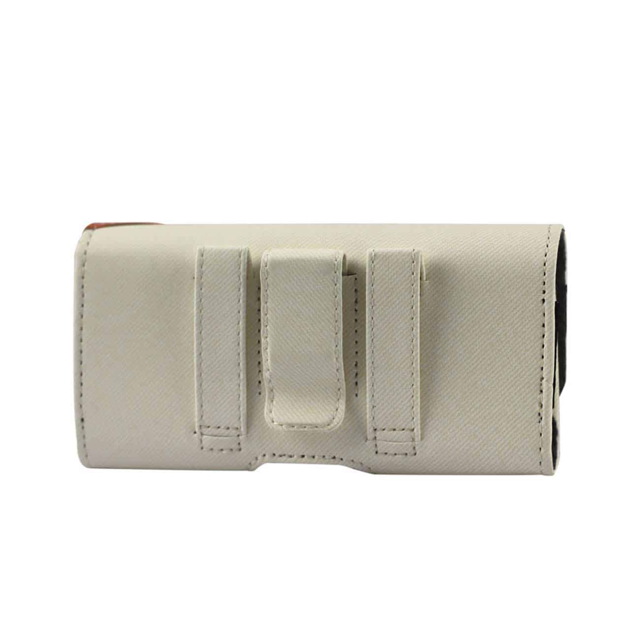HORIZONTAL POUCH FOR SAMSUNG GALAXY S III I9300 TWILL PATTER WHITE