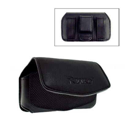 HORIZONTAL POUCH HP88A XS BLACK 3.35X1.75X0.91 INCHES