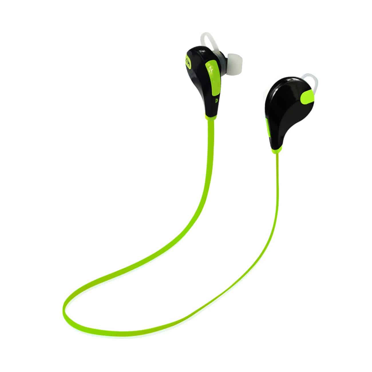 WIRELESS IN EAR HEADPHONES UNIVERSAL BLUETOOTH IN GREEN BLACK