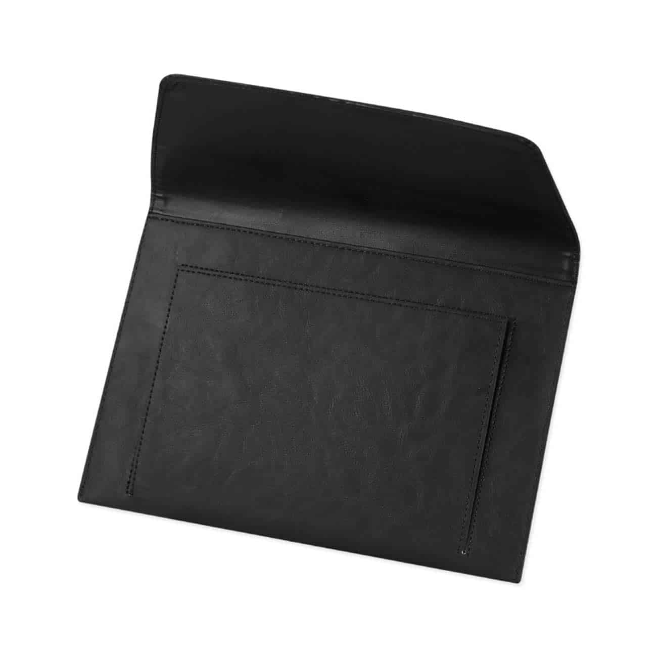 PREMIUM LEATHER CASE POUCH FOR 10.1INCHES IPADS AND TABLETSBLACK