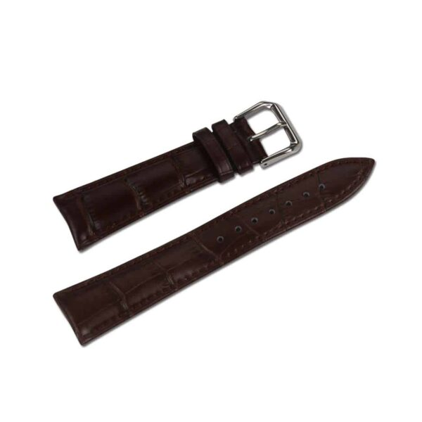 WATCH 38MM GENUINE LEATHER IWATCH BAND STRAP WITHOUT BAND ADAPTORS 38MM IN BROWN