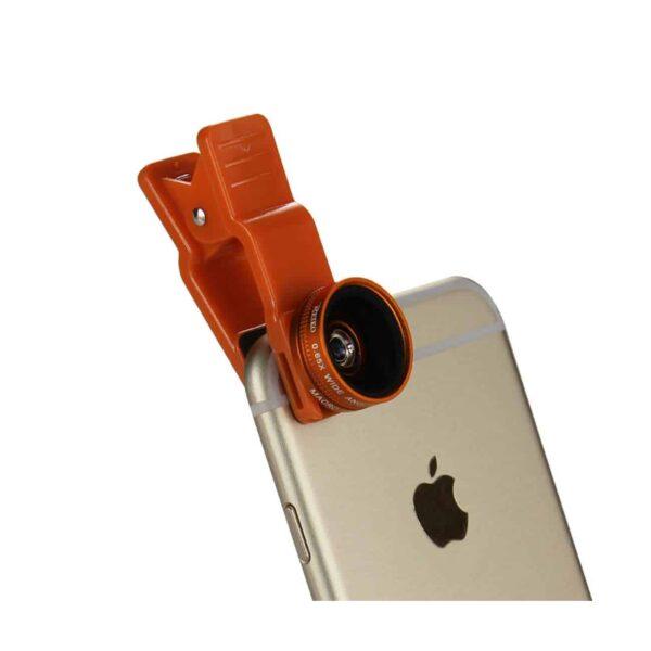 100Degree Wide Angel+10X Macro Lens Orange