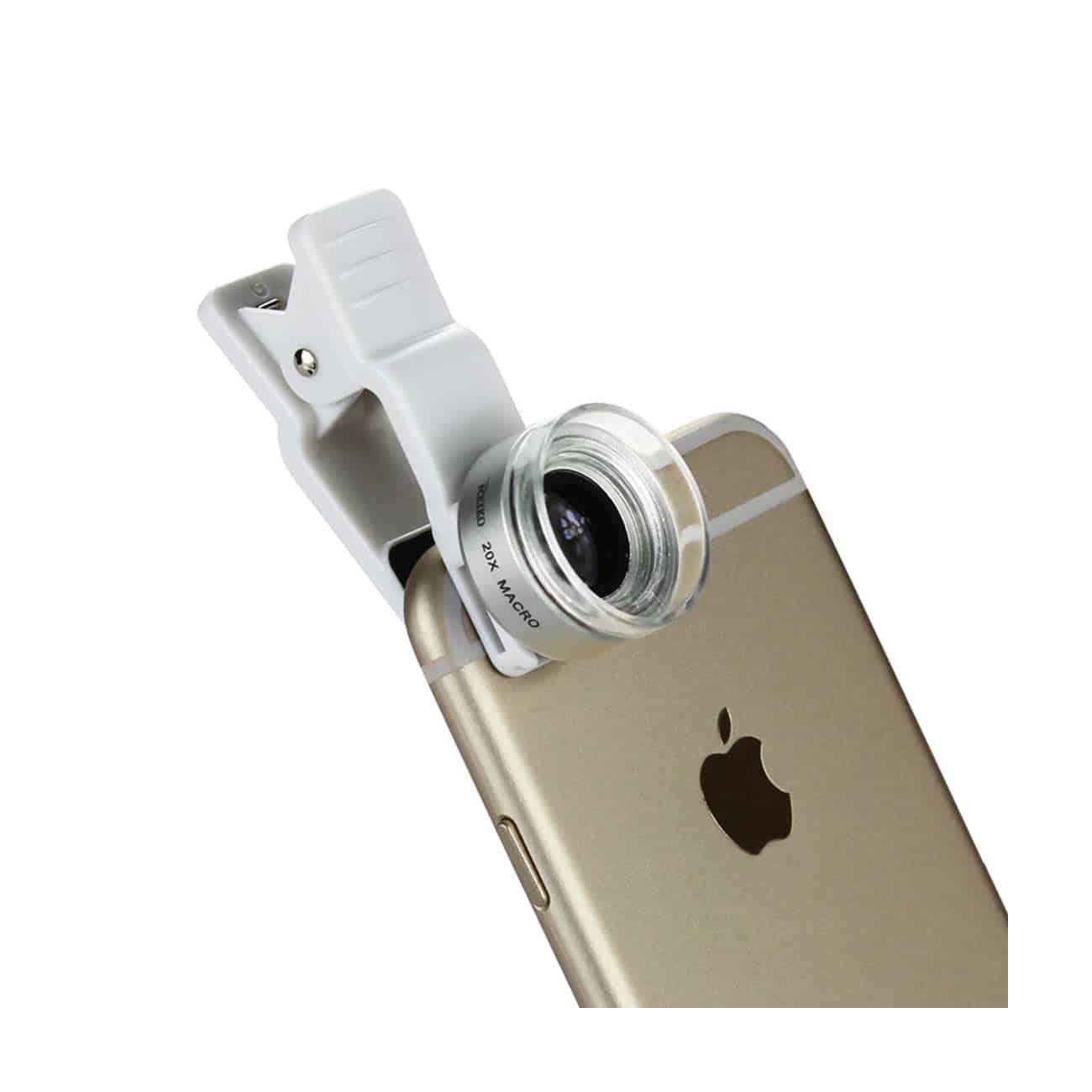 20X Macro Lens White