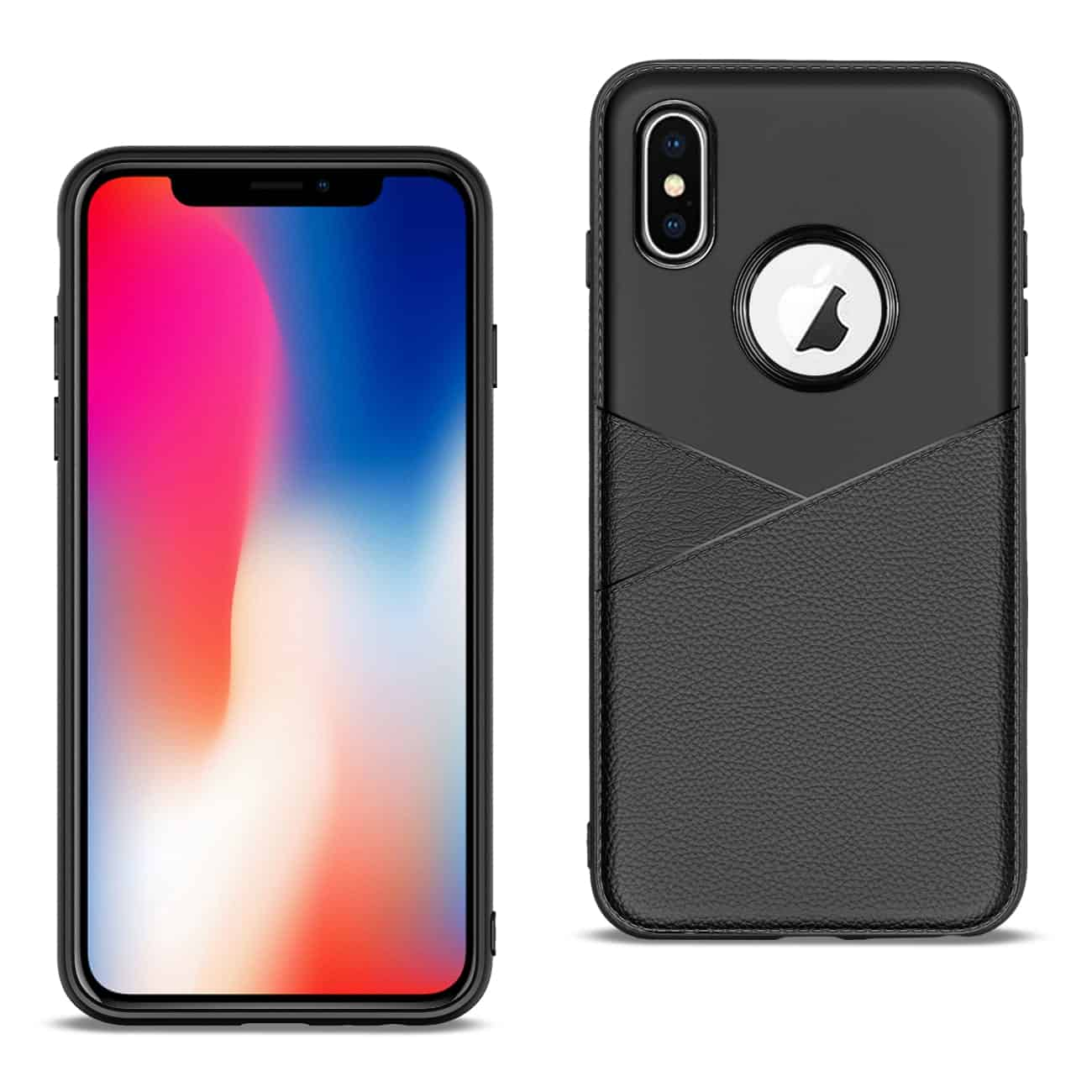 Apple iPhone X Good quality phone case in Black