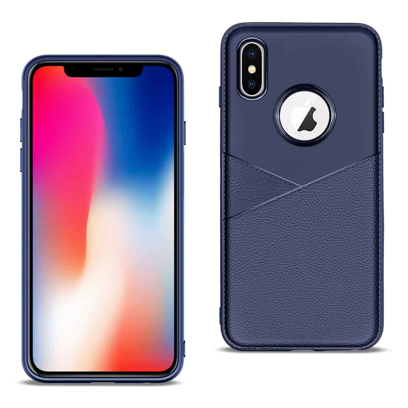 Apple iPhone X Good quality phone case in Blue