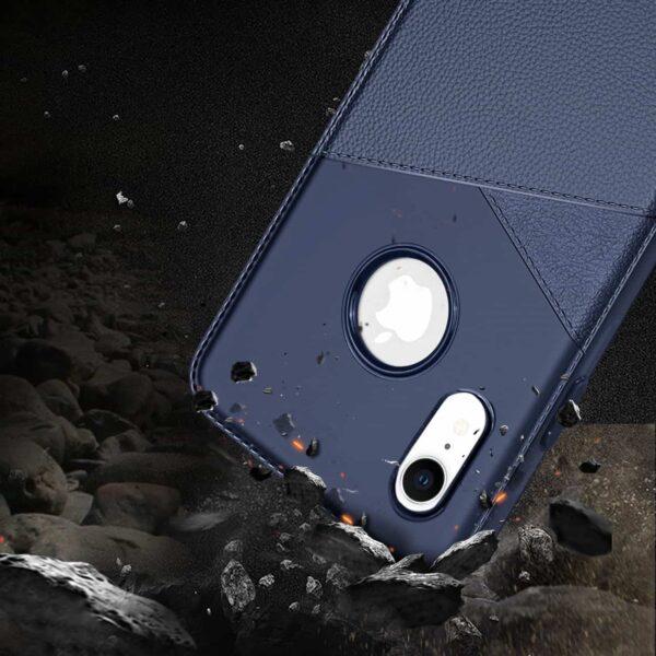 iPhone X Soft Case in Blue