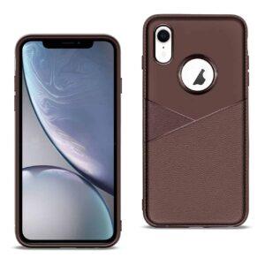 iPhone X Soft Case in Brown