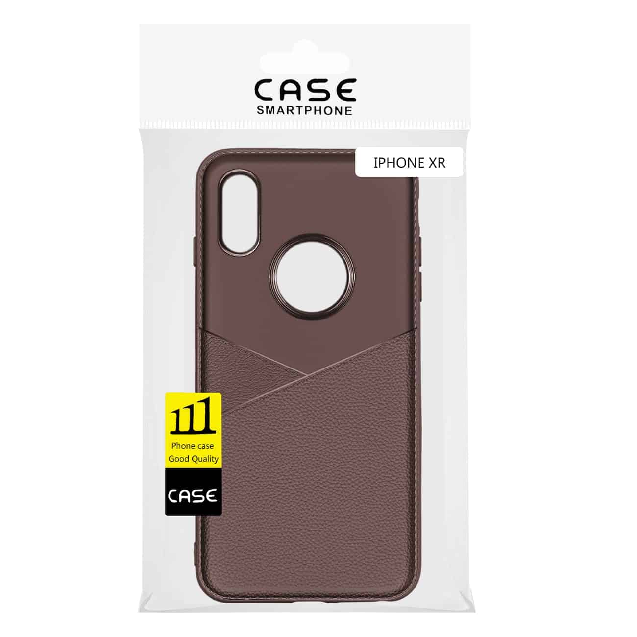 iPhone X Soft Case in Brown