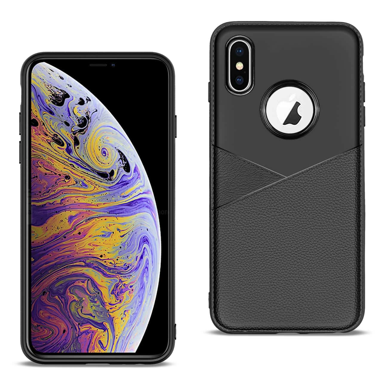 Apple iPhone XS MAX Good quality phone case in Black