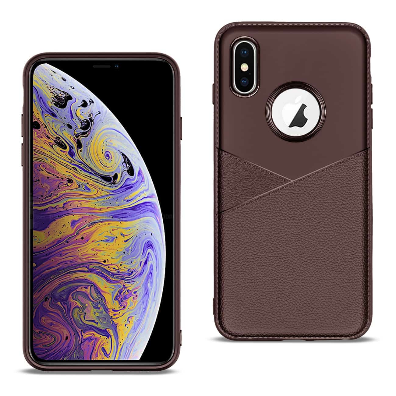 Apple iPhone XS MAX Good quality phone case in Brown