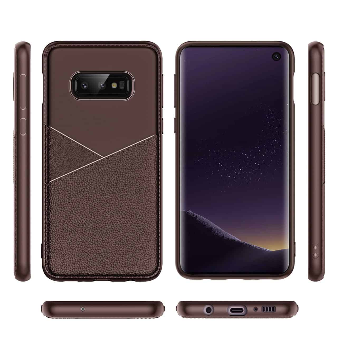 SAMSUNG GALAXY S10 Lite Soft Case in Brown