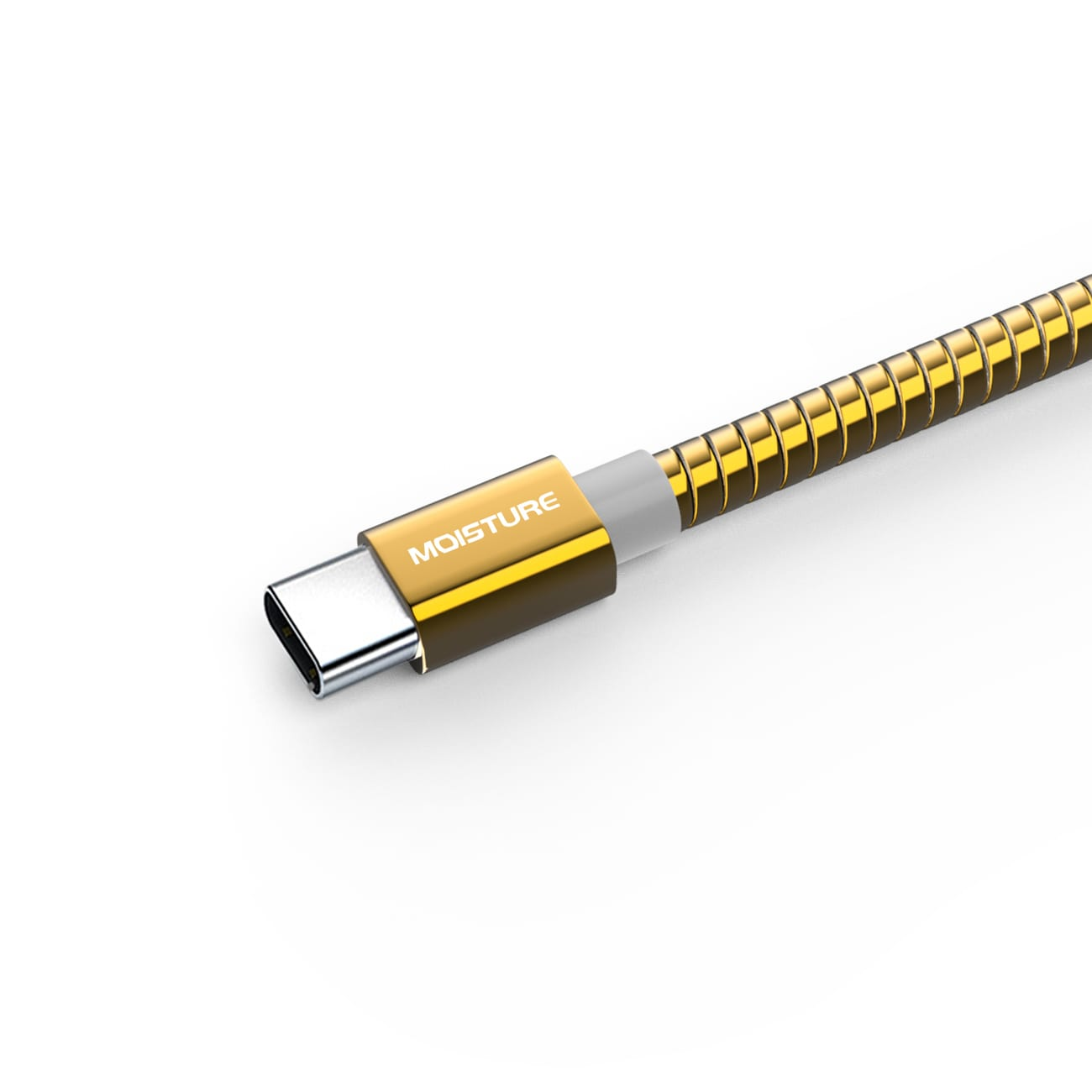 High Speed Type-C Data Cable in Gold