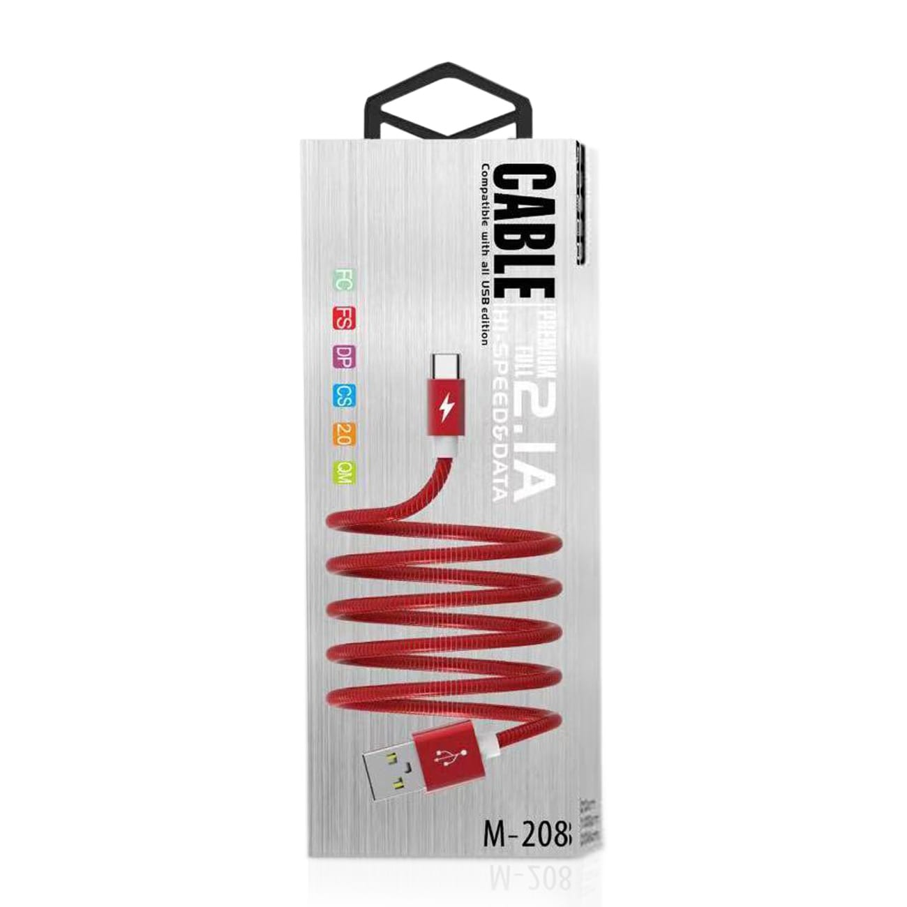 High Speed Type-C Data Cable in Red