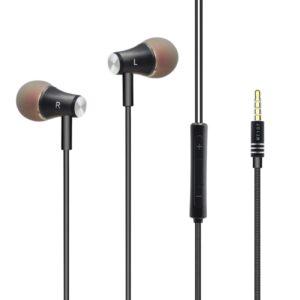 Universal Super Bass earphone in Black