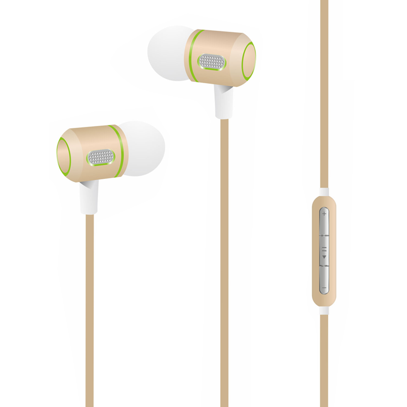M-99 Super Bass earphone in  Gold
