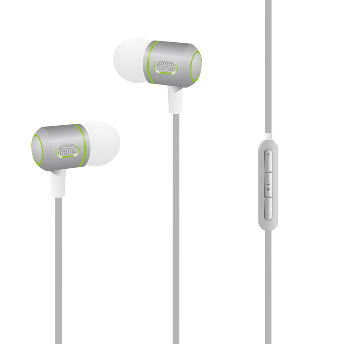 M-99 Super Bass earphone in  Gray