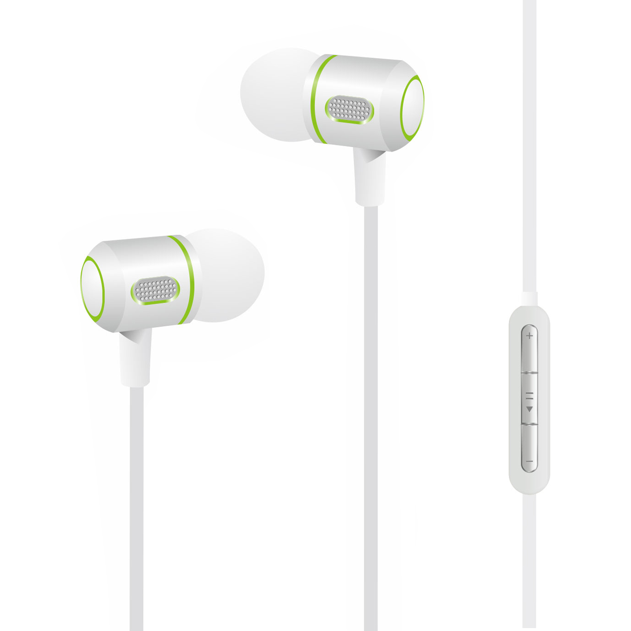 M-99 Super Bass earphone in  Silver