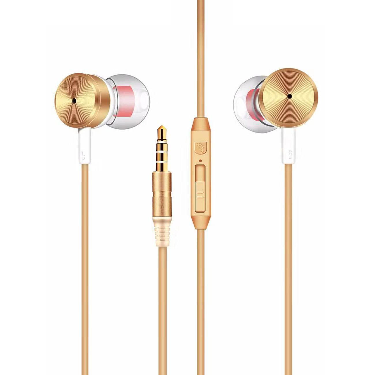 MT-H10 Universal Earphones in Gold