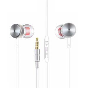 MT-H10 Universal Earphones in Silver