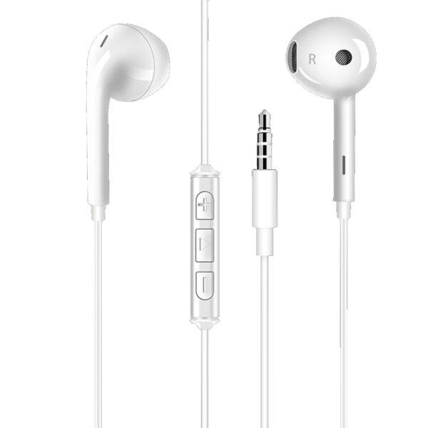 Moisture MT-H114 Stereo Earphones In White