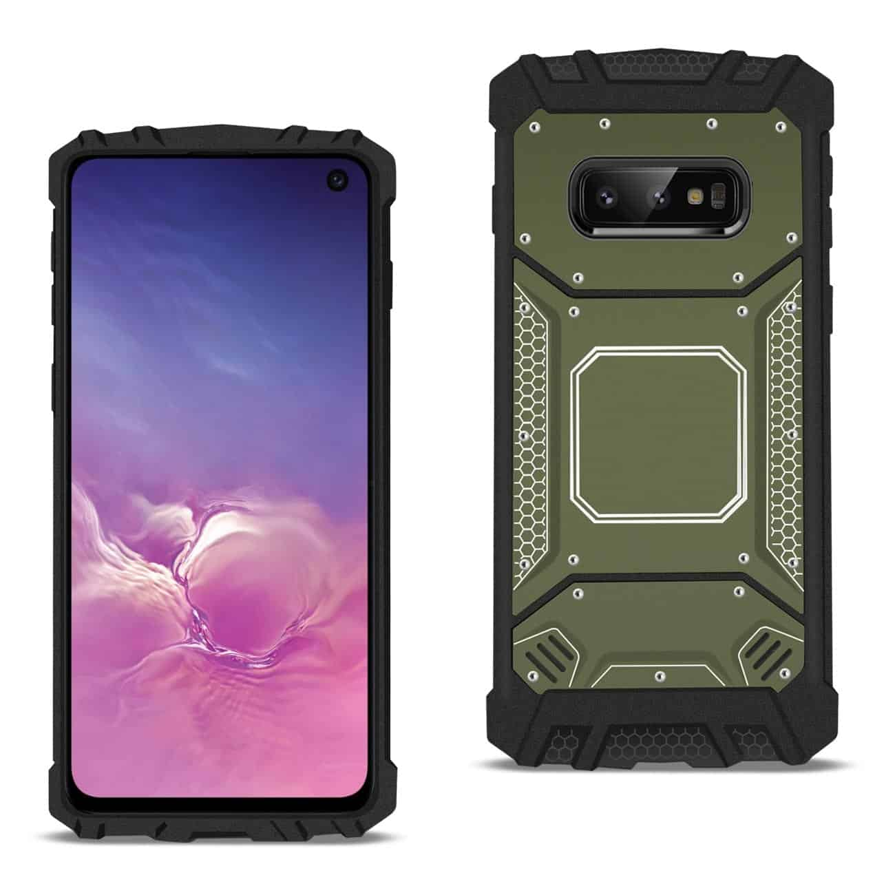 Samsung S10 Lite Metallic Front Cover Case In Gray