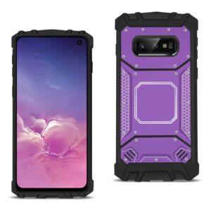 Samsung S10 Lite Metallic Front Cover Case In Purple
