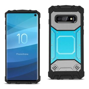 SAMSUNG GALAXY S10 Metallic Front Cover Case In Blue and Gray