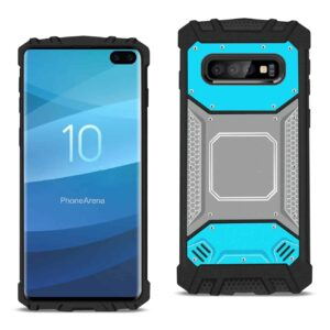 SAMSUNG GALAXY S10 Plus Metallic Front Cover Case In Blue and Gray