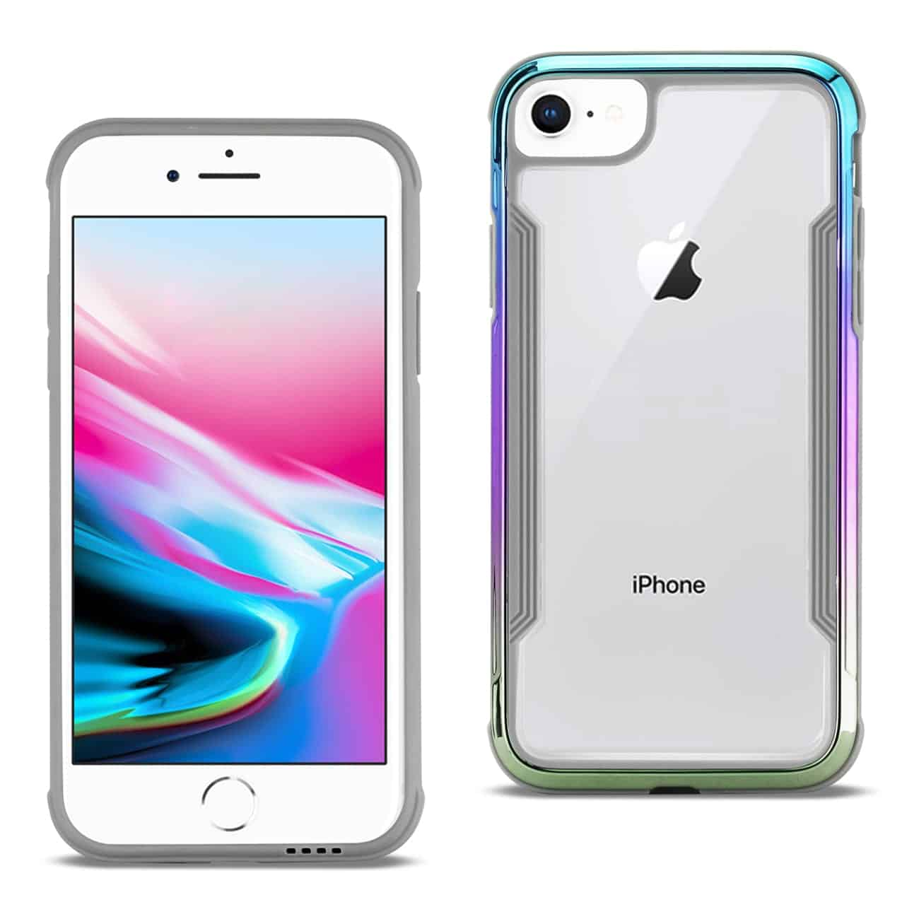 APPLE IPHONE 8 Defense Shield Case In Mix