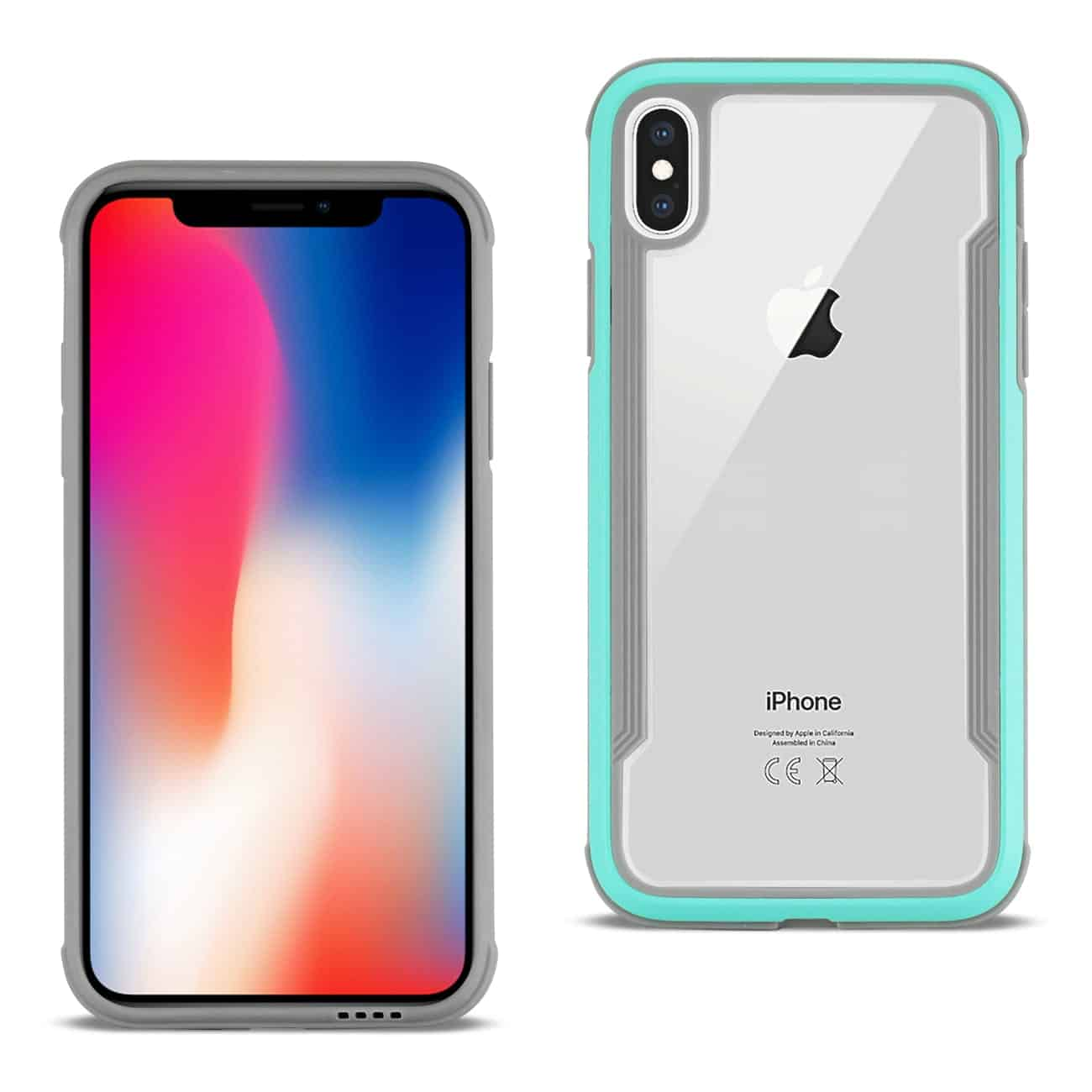 APPLE IPHONE X Defense Shield Case In Blue
