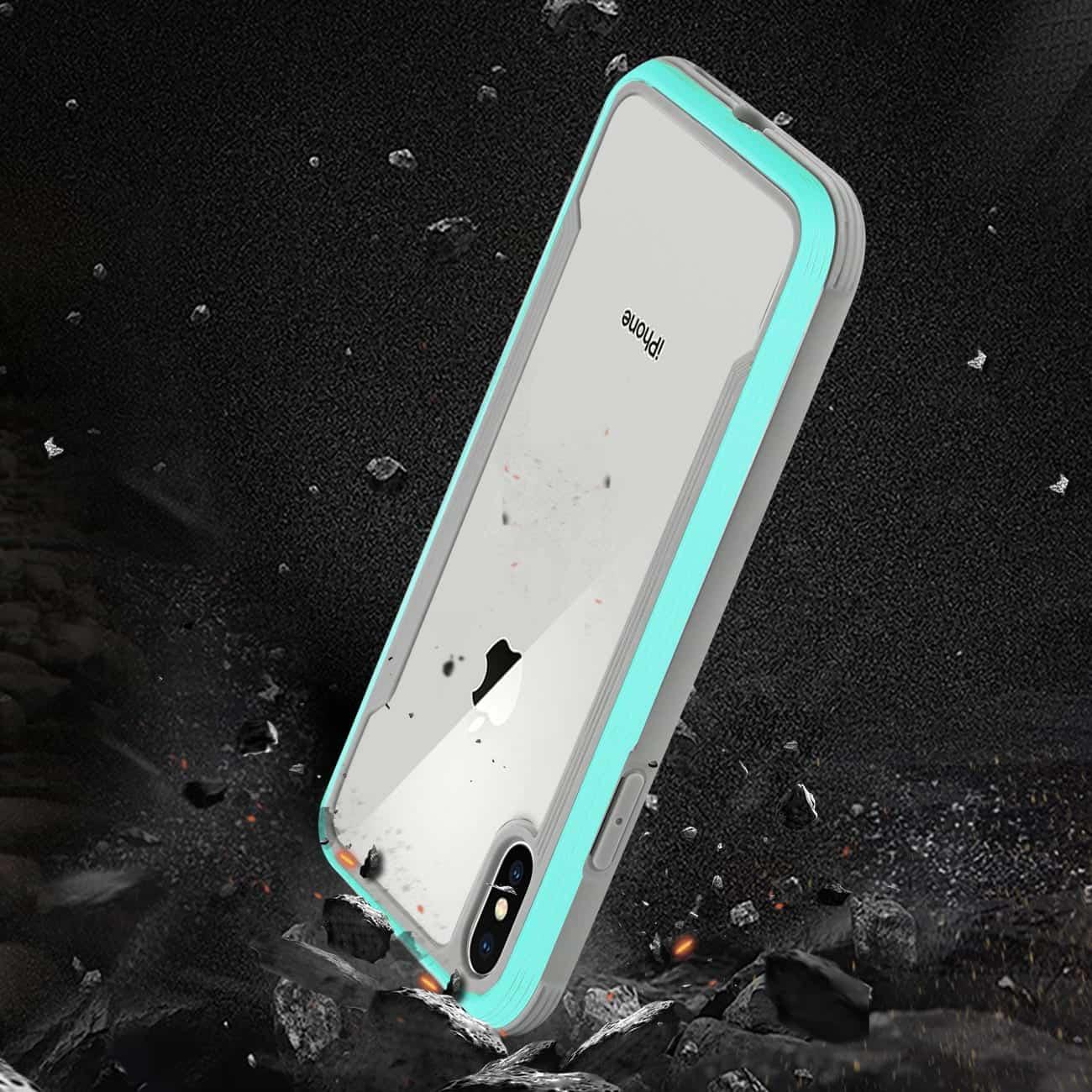APPLE IPHONE X Defense Shield Case In Blue