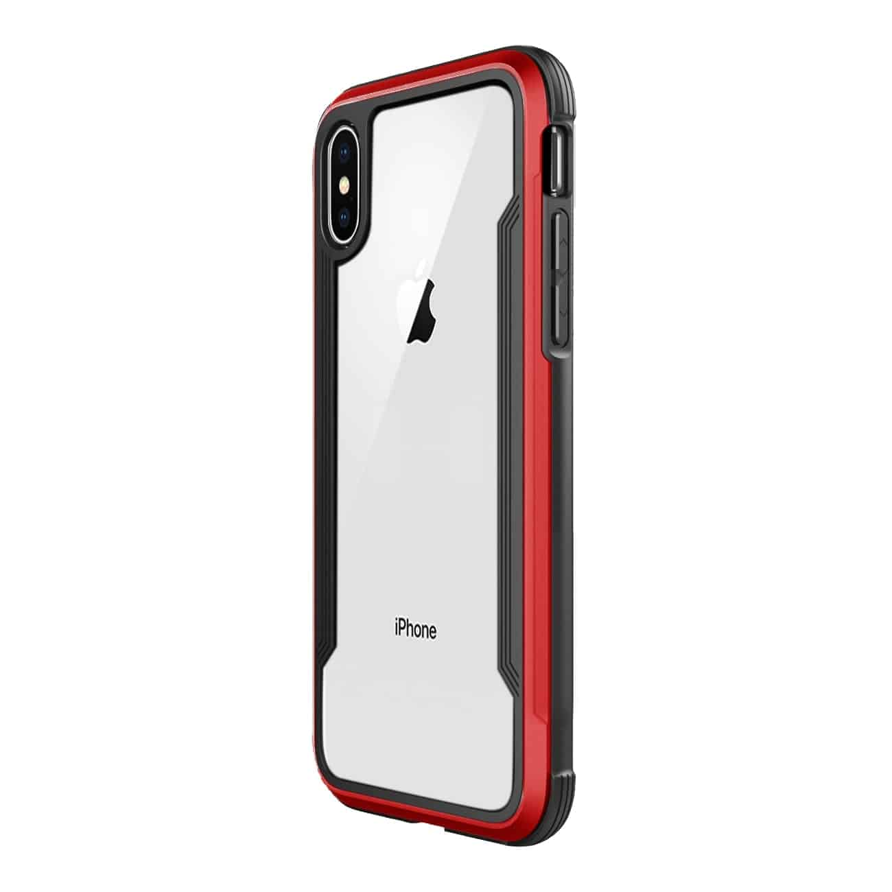 APPLE IPHONE X Defense Shield Case In Red