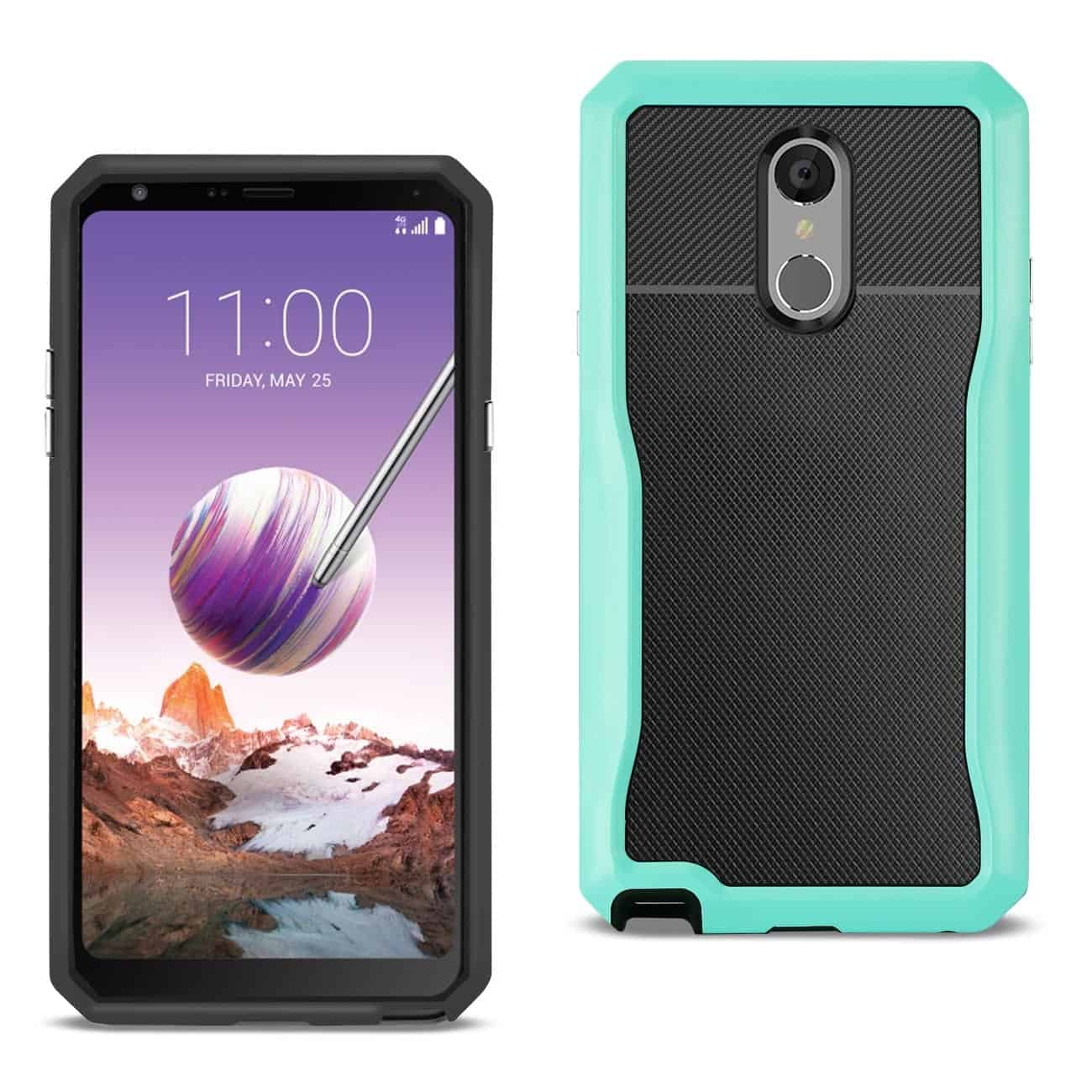 LG STYLO 4 Full Coverage Shockproof Case In Blue
