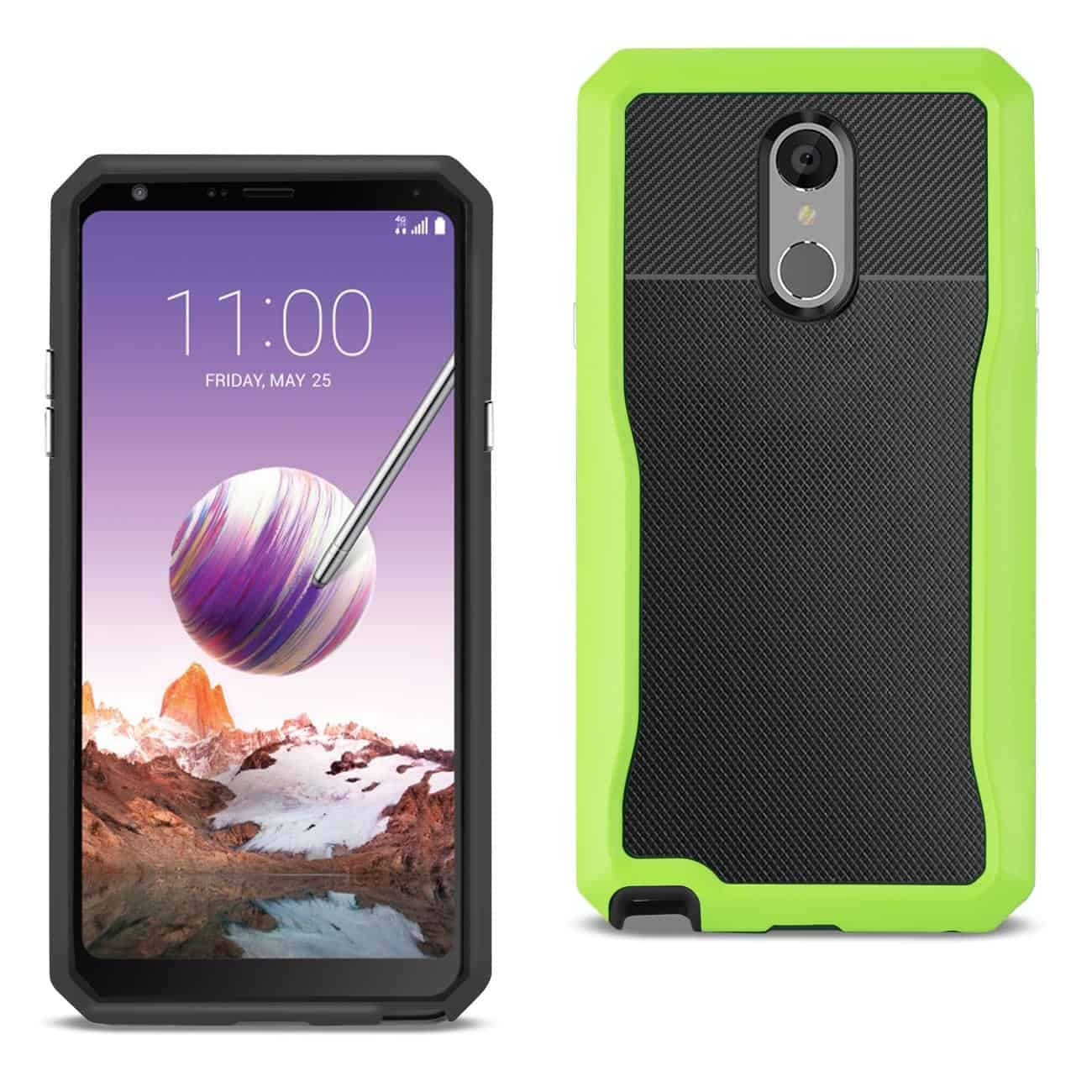 LG STYLO 4 Full Coverage Shockproof Case In Green
