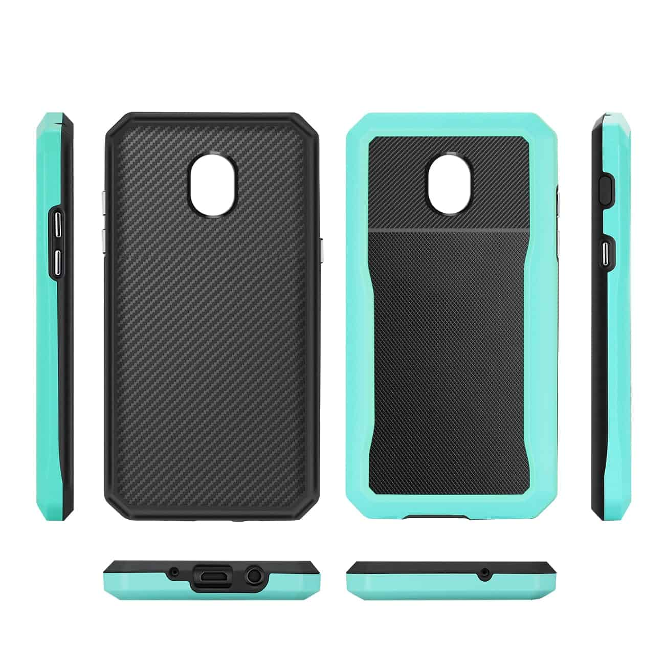 SAMSUNG GALAXY J3 (2018) Full Coverage Shockproof Case In Blue
