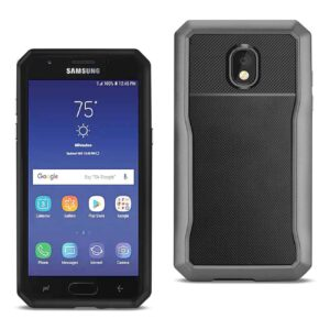 SAMSUNG GALAXY J3 (2018) Full Coverage Shockproof Case In Gray